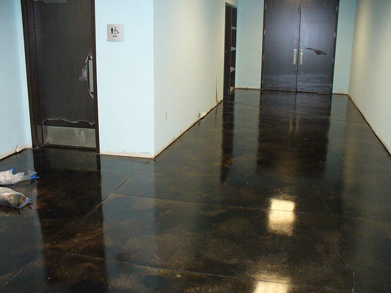 Houston Stained Concrete Staining Countertops