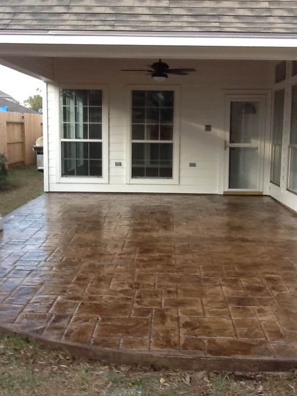 Houston Stained Concrete | Staining - Countertops - Concrete Repair ...