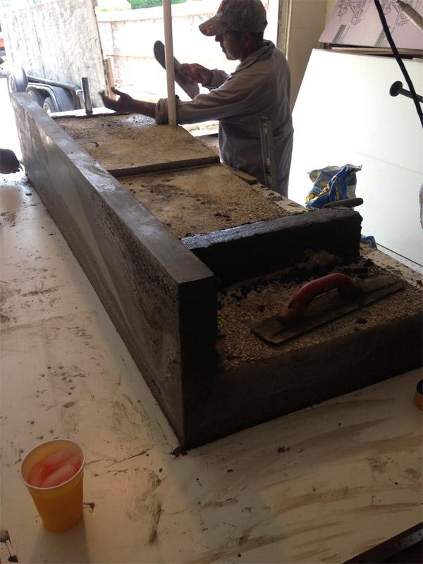 concrete the price domestic diy ii part pour countertops imperfection