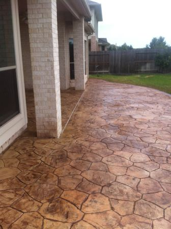 There 3 Ways To Color Stamped Concrete