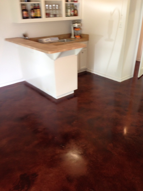 Many Other Benefits From Staining Concrete Instead Of Traditional Floor Covering Methods Are